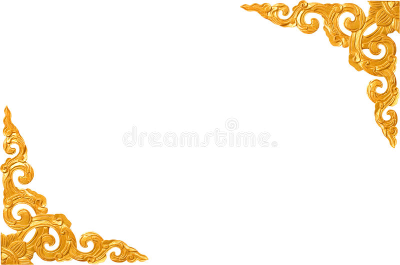 Traditional Thai style pattern decorative royalty free stock images
