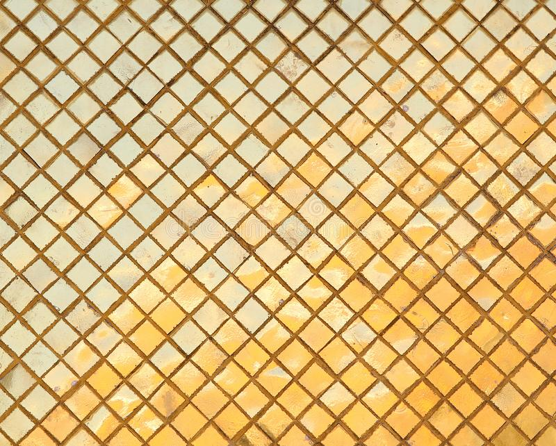 Traditional thai style texture on display at the wall.  royalty free stock photography