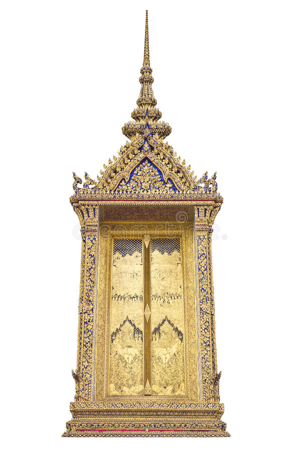Download Traditional Thai Style Window TempleTraditional Stock Image - Image: 19499101