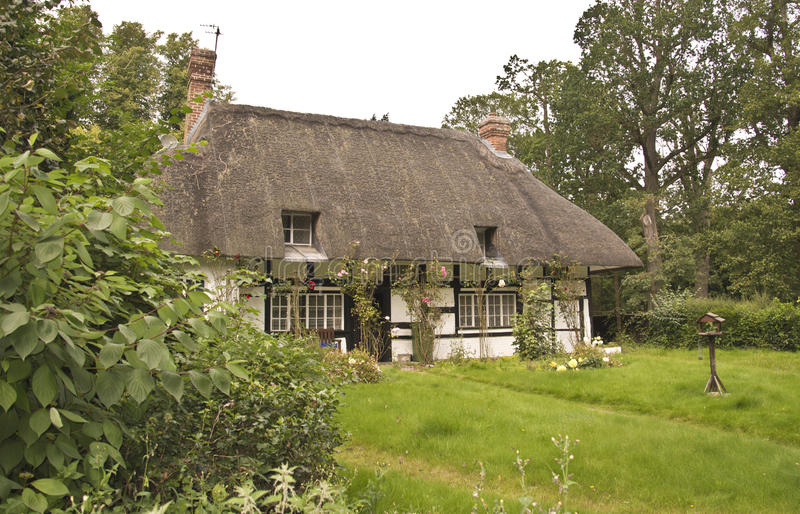 Download Traditional Thatched Roof Cottage Stock Image - Image: 26528603
