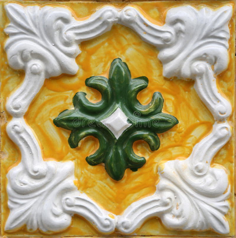 Traditional tiles from Porto, Portugal royalty free stock images