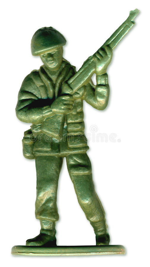 Traditional Toy Soldier. Scanned in high resolution to allow for printing at large size and extreme detail. includes clipping path stock images