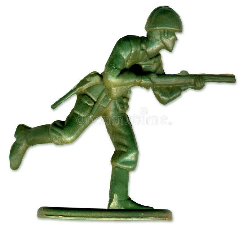 Traditional Toy Soldier. Scanned in high resolution to allow for printing at large size and extreme detail. includes clipping path stock photos