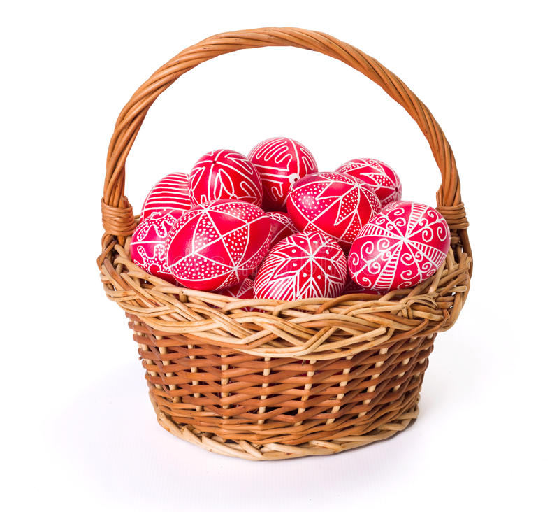Download Traditional Transylvanian Hand Written Eggs Stock Image - Image of wicker, revival: 39091365