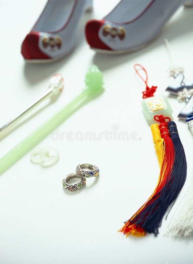 Traditional Trinkets stock images