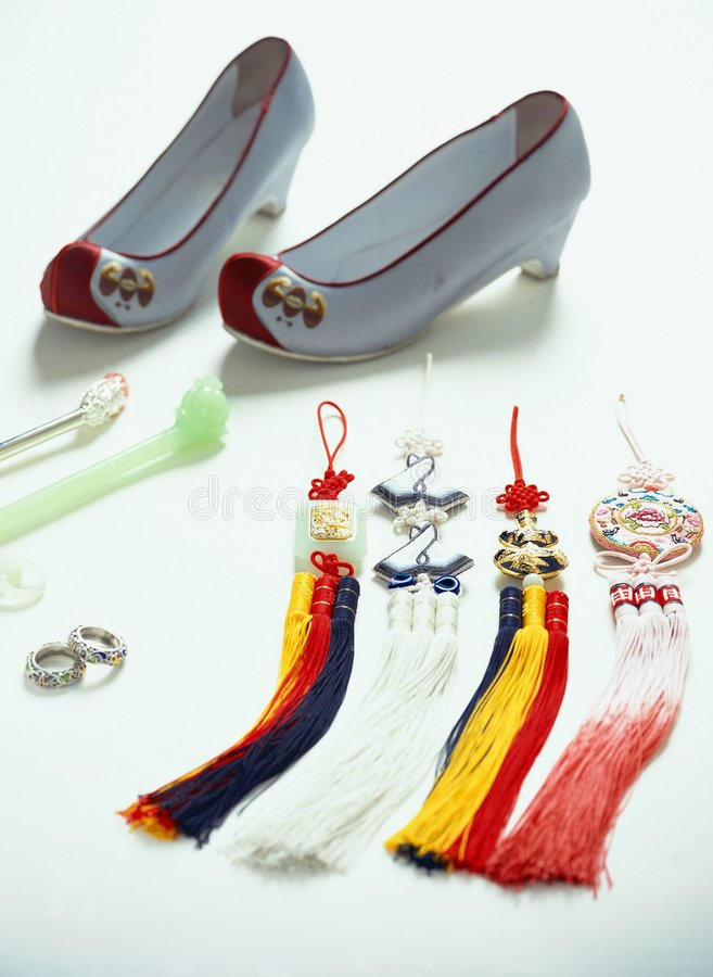 Traditional Trinkets royalty free stock photo