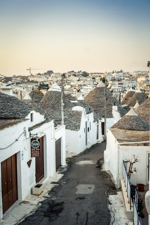 Free Traditional Trulli Houses In Arbelobello, Puglia, Italy Royalty Free Stock Photos - 92117218
