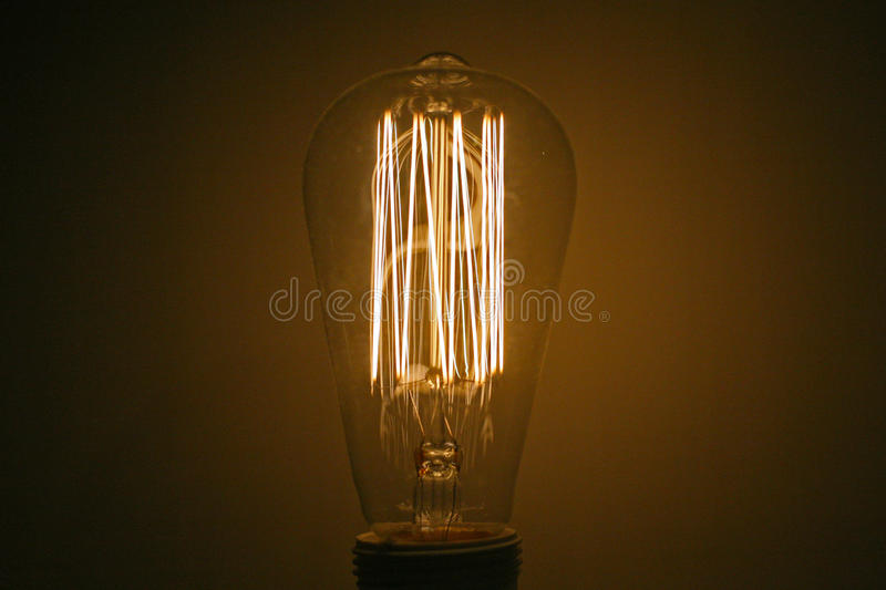 Download Traditional Tungsten Lightbulb Stock Photo   Image Of Lightbulb,  Incandescent: 99261328