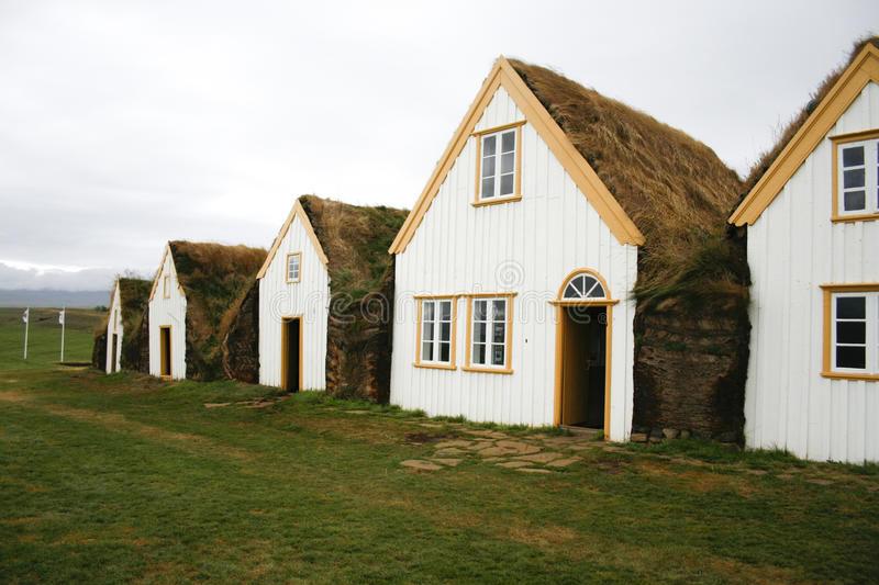 Download Traditional Turf Houses In Iceland Stock Photo - Image: 13921350