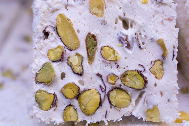Traditional turkish delight lokum candy. Load of traditional turkish delight lokum candy stock photography