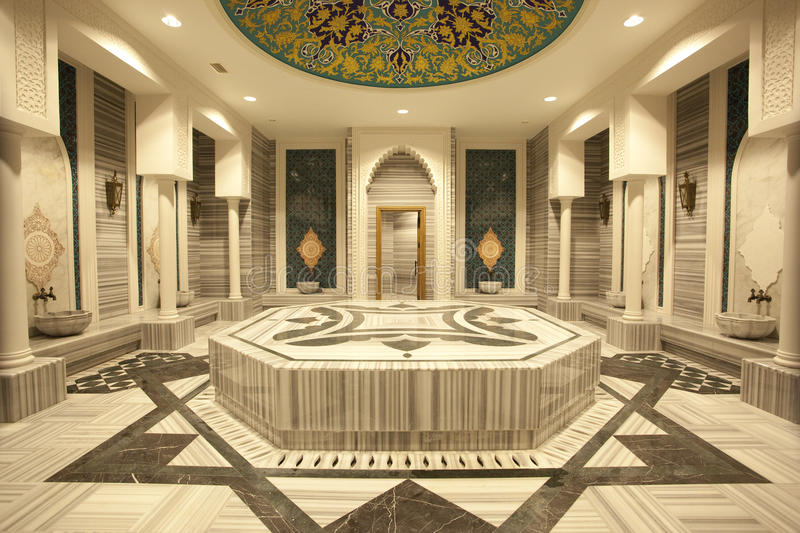 Traditional turkish hammam royalty free stock photos