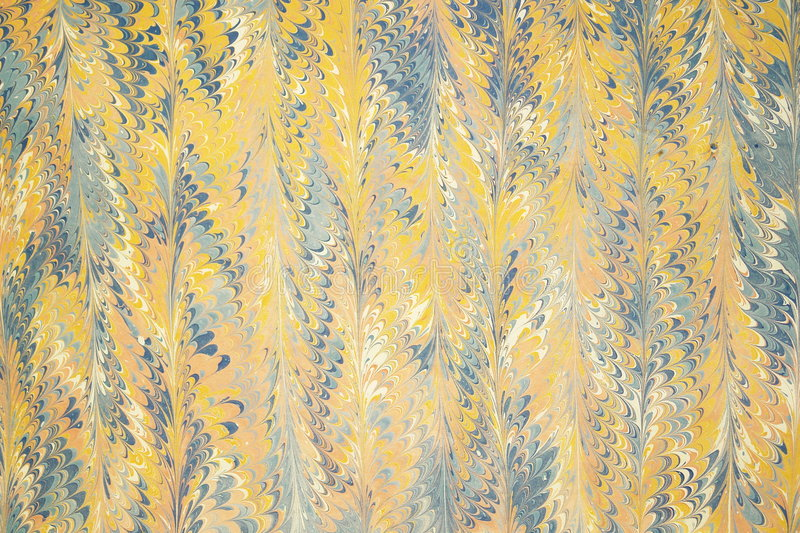 Traditional Turkish marbled paper artwork royalty free stock image