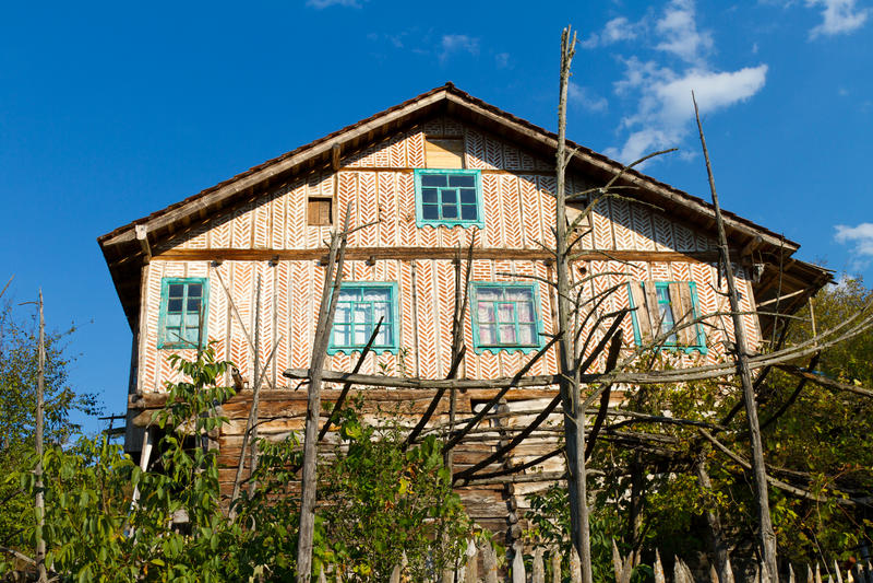 Traditional Turkish Village House