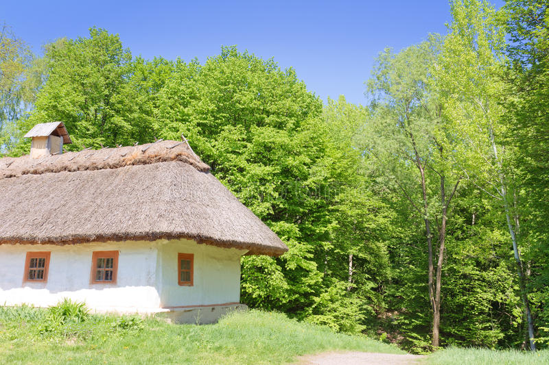 Download Traditional Ukrainian Rural House Stock Photo - Image: 25363832