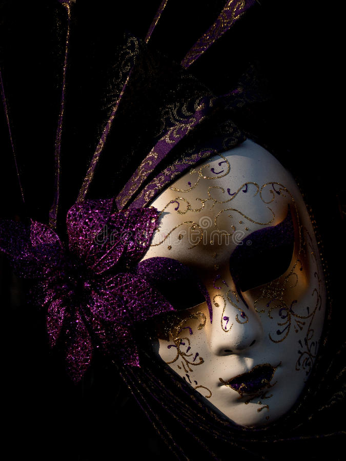 Download Traditional Venetian Carnival Mask Stock Illustration - Image: 21729016
