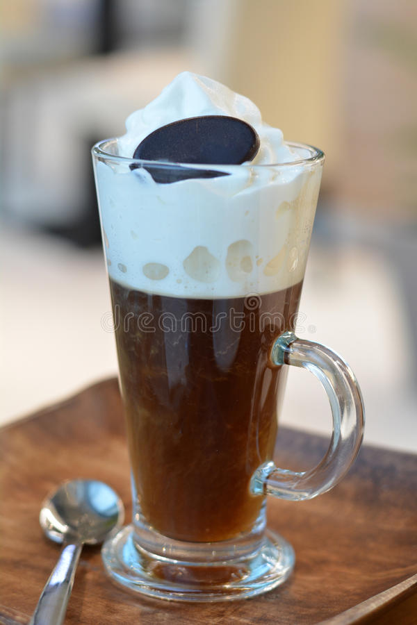 Traditional Viennese Coffee stock photography