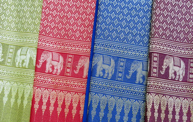 Traditional vietnamese textile royalty free stock images