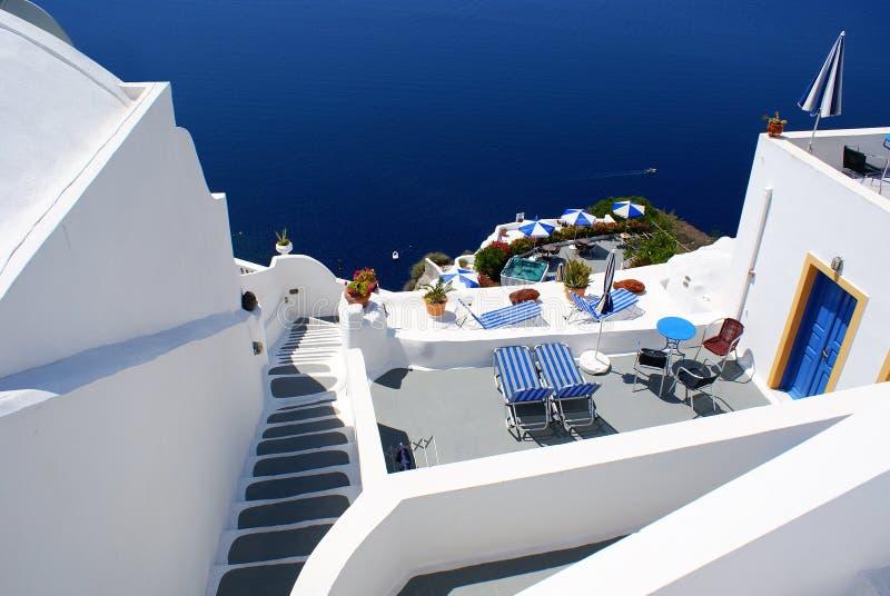 Download Traditional Village Of Thira At Santorini Stock Image - Image: 19994507