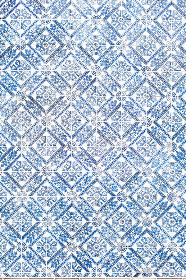 Free Traditional Vinage Portuguese Decorative Tiles Azulejos Stock Photo - 132921980