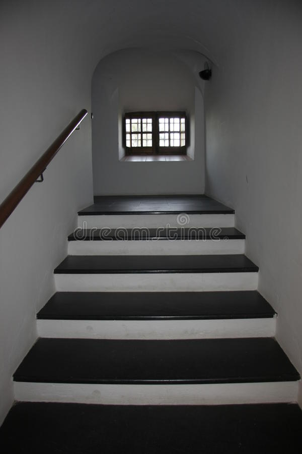 Download Traditional Whitewashed Stairs With Slate Stock Image   Image Of  Staircase, Badajoz: 64517127