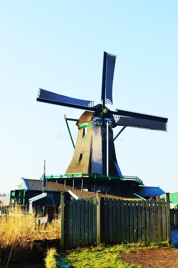 Traditional windmill, symbol stock image