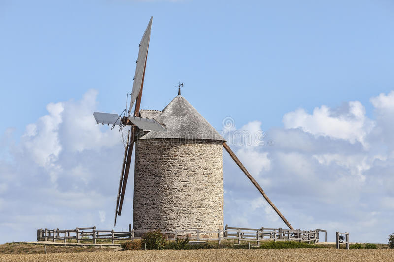 Download Traditional Windmill stock photo. Image of windmill, france - 92167584