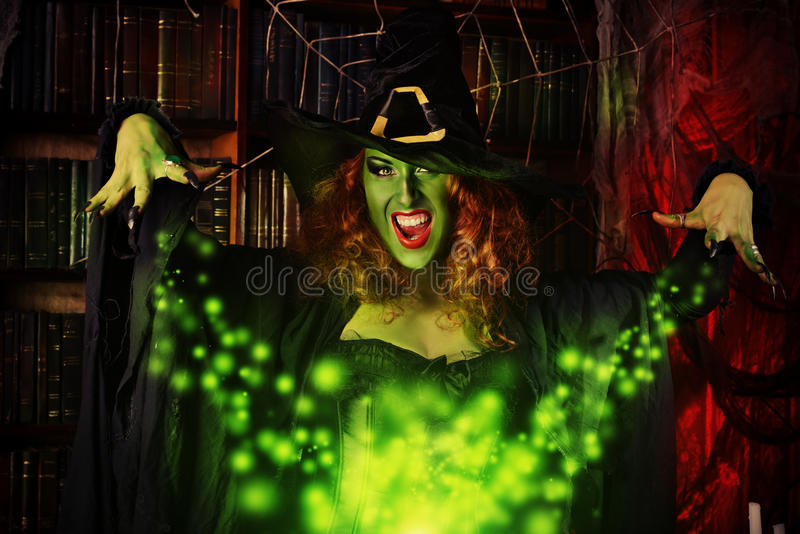 Traditional witch royalty free stock photo