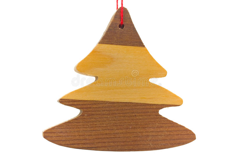 Traditional Wooden Christmas Decoration Royalty Free Stock Photography