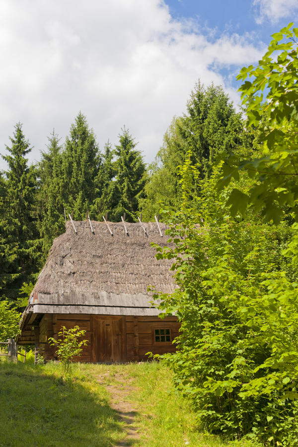 Download Traditional Wooden House Royalty Free Stock Photos - Image: 25687438