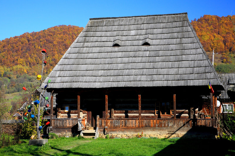 Download Traditional wooden house stock image. Image of ancient - 7362597
