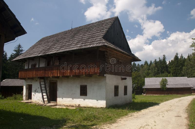 Traditional wooden houses