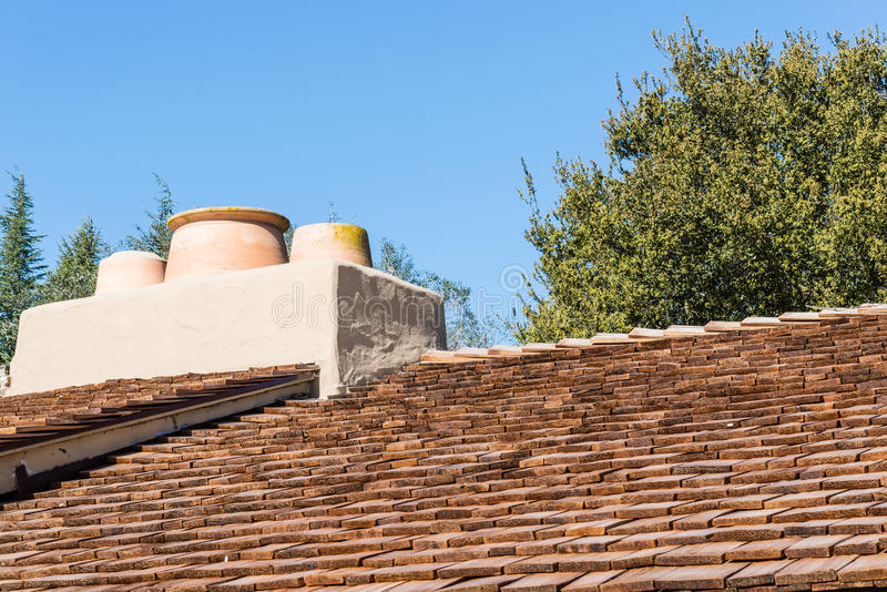 Download Wooden shingle roof stock photo. Image of stucco, detail - 29976566