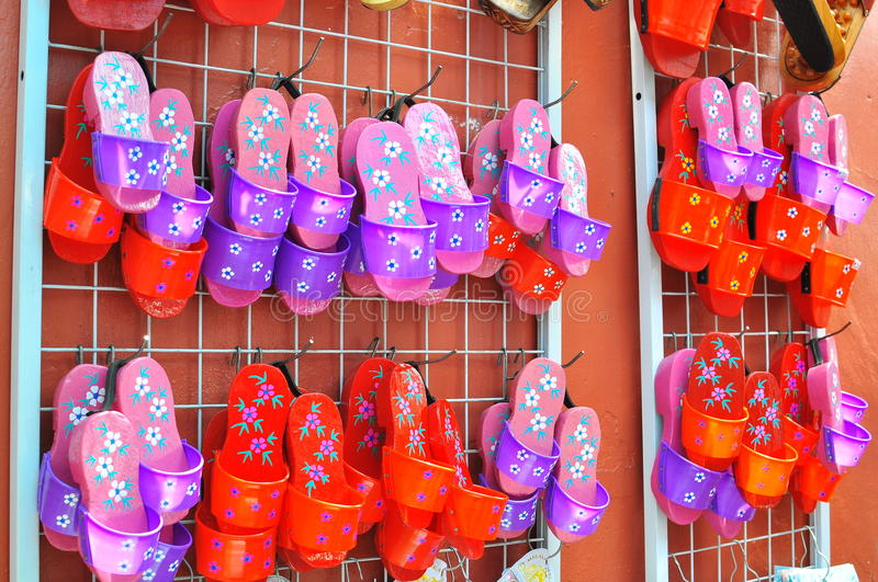 Download Traditional wooden shoes stock photo. Image of souvenir - 20168446