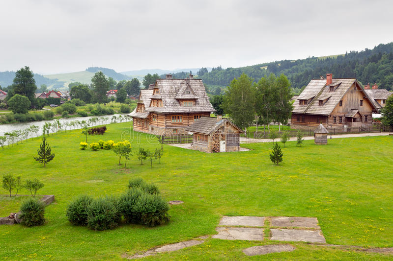Download Traditional Wooden Village In Tatra Mountains Stock Photo - Image: 32398244