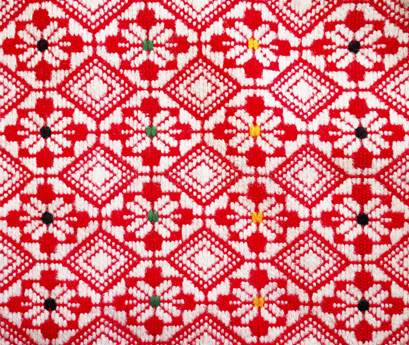 Traditional woven pattern royalty free stock image