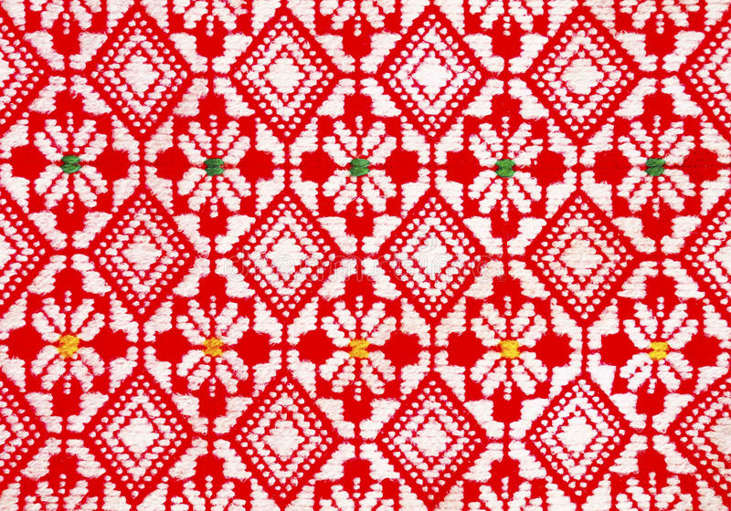 Traditional woven pattern royalty free stock photos