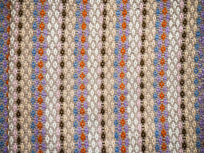 Traditional woven pattern stock image