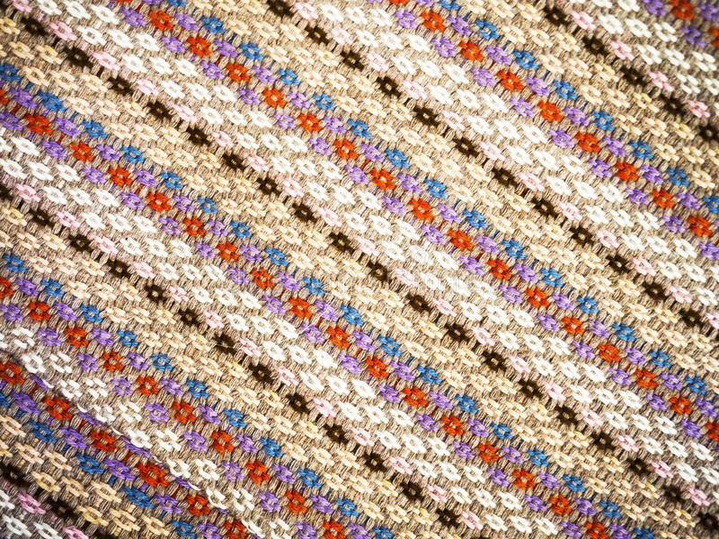 Traditional woven pattern stock photography