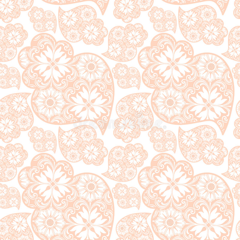 Traditionall portuguese Viana's heart and azulejo tiles backgrou stock illustration