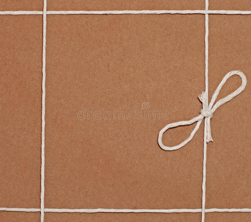 Traditionally Wrapped Parcel royalty free stock photography