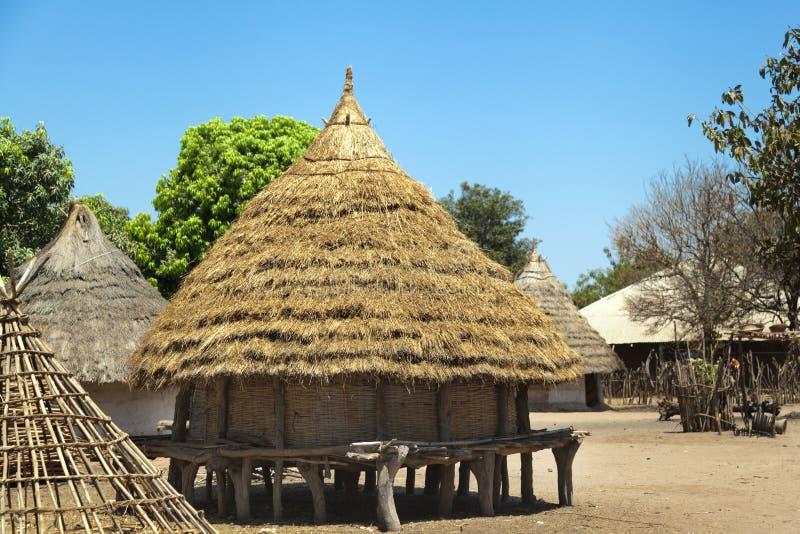 Traditioneel Afrikaans Huis royalty-vrije stock foto's