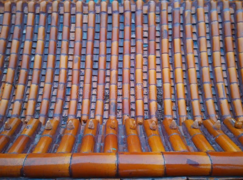 Traditioneel architecturaal dak stock fotografie
