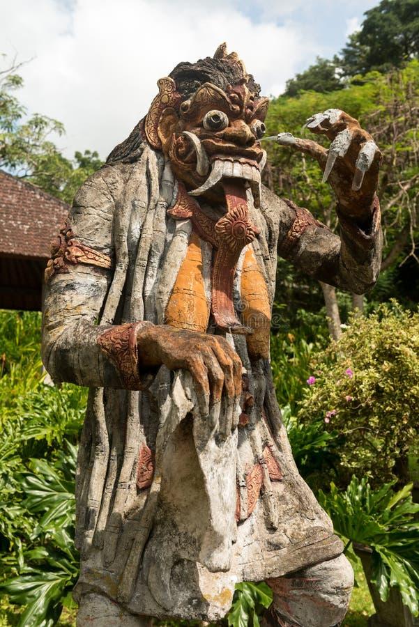 Traditioneel Balinees Godsstandbeeld stock fotografie