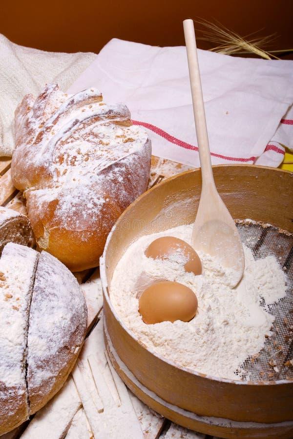 Traditioneel brood stock fotografie