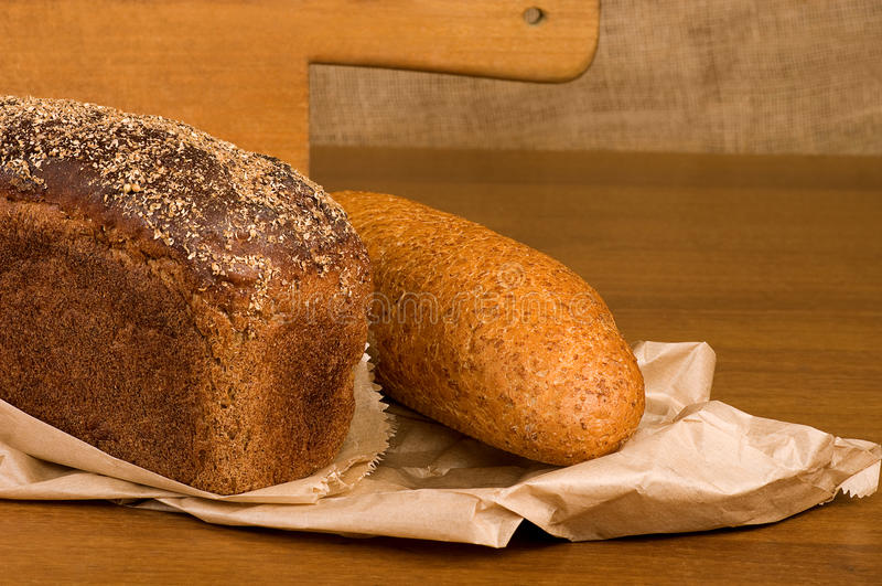 Traditioneel brood royalty-vrije stock afbeelding