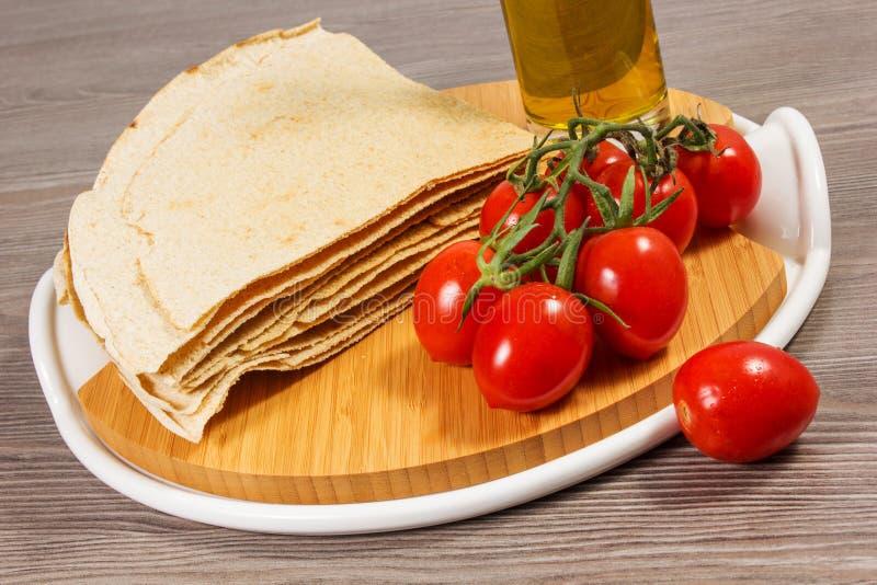 Traditioneel brood van Sardinige royalty-vrije stock afbeelding