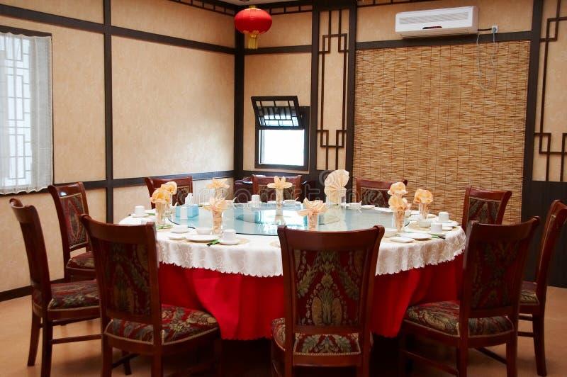 Traditioneel Chinees restaurant royalty-vrije stock afbeeldingen