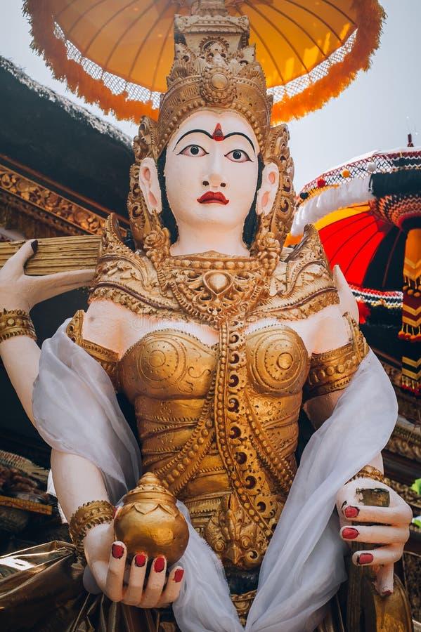 Traditioneel close-upportret van Shiva - Hindoese Boeddhistische deities, stock fotografie