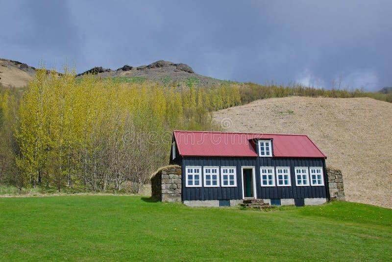 Traditioneel dorpshuis royalty-vrije stock afbeelding