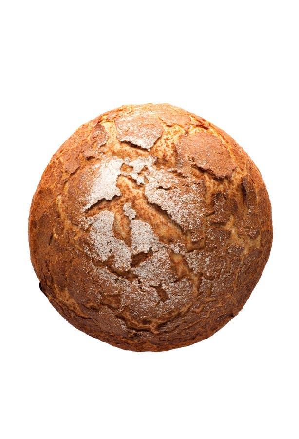 Traditioneel eigengemaakt rond brood stock afbeeldingen